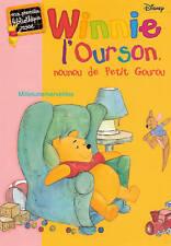Livre Winnie l'Ourson - Nounou de Petit Gourou - Ma 1ère Bibliothèque Rose