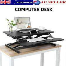 Height Adjustable Standing Gas Spring Computer Desk Lifting Study Table Standup