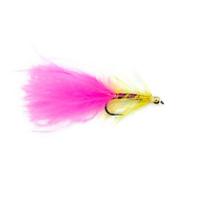 Dancer Yellow And Pink Barbless X3 Size 10 - Dragonflies