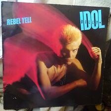 BILLY IDOL original uk  Lp  record REBEL YELL