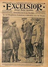 Camp of Aidershot London King George V Wounded soldiers British Army WWI 1916