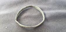 Nice largish Viking bronze copper alloy ring, please read description. L101s