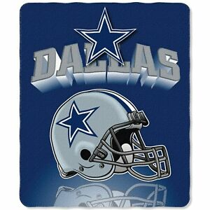 """Dallas Cowboys NFL Gridiron 50"""" x 60"""" Fleece Blanket"""
