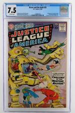 Brave and The Bold #29 - CGC 7.5 VF- DC 1960- 2nd App Justice League of America