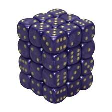 12MM d6 PEARL DICE set - PURPLE (x36)