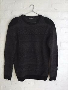 RAF SIMONS AW05 HISTORY OF MY WORLD PADDED KNIT JUMPER sweater VERY RARE size 50