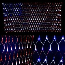 YULIANG 6.5ft x 3.2ft Led Flag Net Lights of The United States,for and Outdoor.