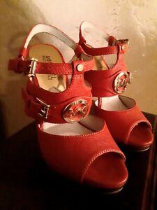 Michael Kors - Mackenzie Platform Sandal - Retails:$175.00