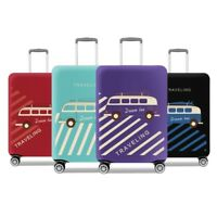 """18~32"""" Suitcase Elastic Dust Cover Trolley Case Travel Luggage Protector Thicken"""