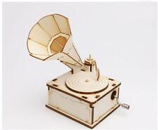Phonometer Music Box / Orgel / Wooden model kit