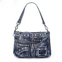 New Casual Fashion Denim Women Bag Handbags Jeans Totes Crossbody Shoulder Bags