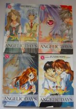 Neon Genesis Evangelion Angelic Days Manga Volumes 1-4 English