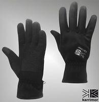 Mens Karrimor Micro Fleece Windfpoof Gloves Sizes from S to XL