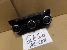 2014 2015 Volkswagen CC AC and Heater Control Used Stock #2616-AC