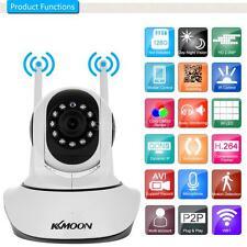 KKmoon 1080P 2MP WIFI Pan Tilt IP Camera 2-Way Audio TF Card Slot IR Night View