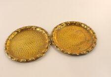 Lot de 2 Coupelles cuivre  fin XIX début  XXéme 12,5 cm diamètre