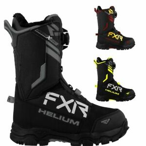 FXR Racing F20 Helium Boa Men's HydrX Pro Membrane Snowmobile Boots