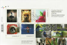 Canada 2010 Wildlife Photography Souvenir Sheet Used