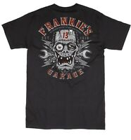 Lucky 13 Frankies Garage Frankenstein Hot Rod Rockabilly Punk T Shirt LM1000FG