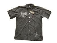 NWT Billabong Mens Big And Tall Size 2XL Button Up Shirt Collared Short Sleeves