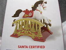 2015 Hallmark SANTA CERTIFIED #3 in the series Rocking Horse