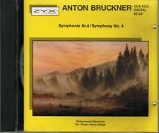 CD - ANTON BRUCKNER - SYMPHONIE Nr. 4 / SYMPHONIE No. 4 #K08#