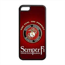 USMC Marines Semper Fi Marine Corps iPhone 4 4s 5 5s 5c 6 6 Plus Case Logo proud