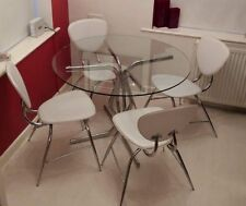 Contemporary Up to 4 Seats Table & Chair Sets with 6 Pieces