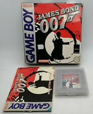 James Bond 007 Video Game for Nintendo Game Boy PAL BOXED