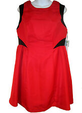 Prabal Gurung for Target Dress sz 12 red & black cocktail party NEW