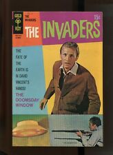INVADERS #4 (8.5) FLYING SAUCER COVER