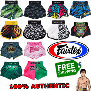 FAIRTEX Shorts Trunks BT BS Muay Thai Boxing 100% GENUINE Made-To-Order Handmade