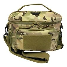 Camo Lunch Bag Tactical Tote Insulated Cooler Picnic Travel For Kids Adults NEW