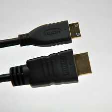 6ft Mini HDMI Type C to HDMI Type A Cable with Ethernet - 1080P