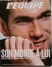 L'Equipe 11/05/2002; Saga Zinédine Zidane/ Coupe du monde/ Entretien Ecclestone
