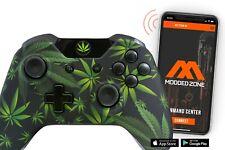 420 BLACK Xbox One S SMART Custom Rapid Fire Modded Controller. FPS mods. COD