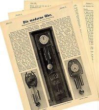 Dr. Felix Poppenberg Die moderne Uhr Kunstgewerbliche Plauderei Text/ Bildd.1902