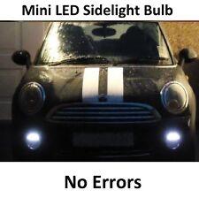 PREMIUM MINI COOPER S LED SIDELIGHT BULBS ICE WHITE ERROR FREE SIDE LIGHTS