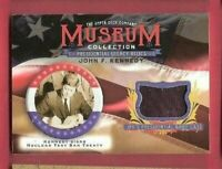 JOHN F KENNEDY JFK Brief Case RELIC CARD 2019 GOODWIN MUSEUM PRESIDENT TREATY