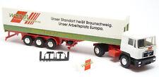 Herpa 859126 - MAN F90 Sattelzug LKW Wandt Spedition Braunschweig 1:87 H0