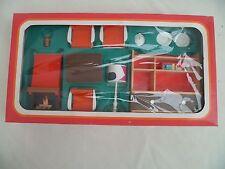 FRADE Mobilier de poupée vintage 70'S Doll's house fourniture (Box)complet RARE