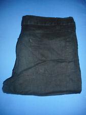 Genuine Armani -W32 L30- Ladies Black Linen Trousers-  G891