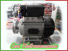 MOTORE ELETTRICO MONOFASE HP 2 KW 1,5 PER COMPRESSORE CON PULEGGIA 98