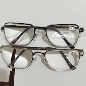 High Reading Glasses +6.5 +7.0 +7.5 +8.0 Metal Frame Presbyopic Eyeglasses