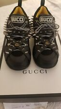 Authentic Gucci Flashtrek black and gray Sneakers/ Boots.
