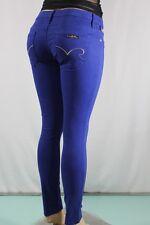New Robin's Jean Women's SZ 29 Skinny Nat Purple Denim Sty #SP8966GLD