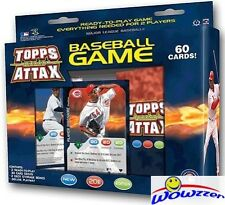 2011 Topps Attax Baseball Starter Box-60 Cards+Playmat!