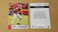 2019-2020 Panini 24 Tyrann Mathieu Chiefs Safety from Instant AP All-Pro set /74