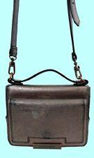 VINCE CAMUTO MILA Deep Cobalt Leather Cross-Body  Bag Msrp $118