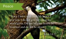 Pass Along Scripture Cards, Peace, John 14:27, Pack 25
